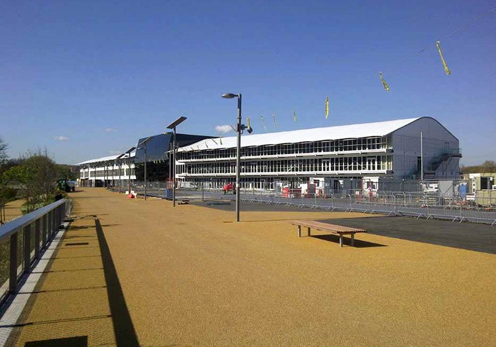 Olympic Park Hospitality Facility, London 2012